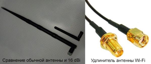 Плюс съёмной антенны — возможность заменить её на более мощную или перенести через удлинитель в другую комнату.